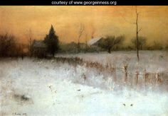 George Inness, in my opinion the best painter that ever lived!