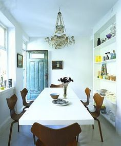 Dining Room table & Chairs - White option