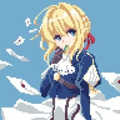 Cool Pixel Art, Anime Pixel Art, Arte 8 Bits, Pixel Life, Pixel Art Background, Retro, Pixel Characters, 8bit Art, Cool Art Projects