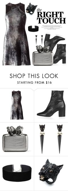 """""""Homecoming Style"""" by porcelaindolls ❤ liked on Polyvore featuring Y/Project, Topshop, Nancy Gonzalez, Alexis Bittar, Miss Selfridge and Homecoming"""