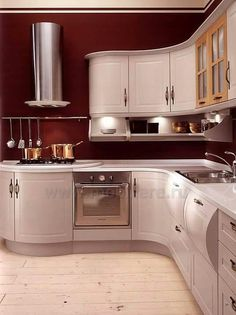 Home Decor: Choosing The Right Finish For Your Kitchen From These 25 Different Styles Kitchen Living, Kitchen And Bath, Kitchen Cabinets, Kitchen Appliances, Eclectic Kitchen, House Inside, Log Homes, Decorating Your Home, Luxury Homes