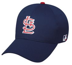 St Louis Cardinals MLB Replica Baseball Cap Adjustable Youth or Adult Twill  Hat ca9eea69c176