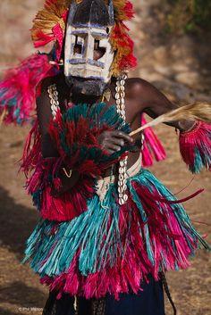 Dogon mask dancer - Mali