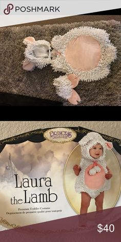 Princess Paradise Laura the Lamb costume Brand new worn for 5 minutes- excellent condition Costumes Halloween