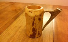 Check out this item in my Etsy shop https://www.etsy.com/listing/225887496/wooden-beer-mug-beer-mug-beer-stein-sca