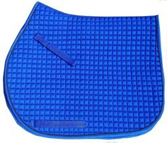 Royal Blue Saddle Pad - All Purpose Style| Bon-Vivant Equestrian