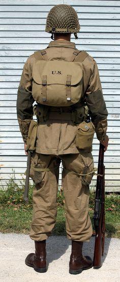 wwii paratrooper gear - Google Search