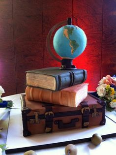 Have your cake and read it too.  11 Cakes Shaped Like Books | Mental Floss