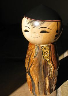 Large+Kokeshi+Art+Doll+by+NaomiGallery+on+Etsy,+$275.00