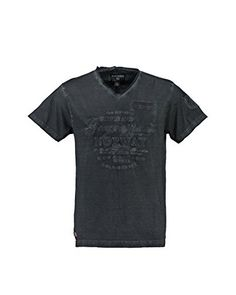 Geographical Norway T-Shirt Manica Corta  [Grigio Scuro]