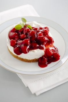 Cherry cheesecake ~ Paul Deen: Cherry cheesecake recipe handed down from Miss Georgia 1965!