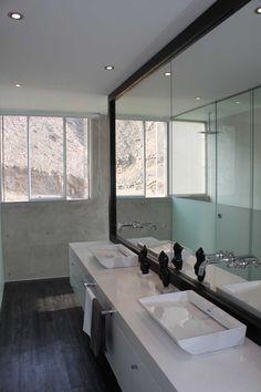 Bathroom in Peru