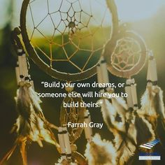 """""""Build your own dreams, or someone else will hire you to build theirs."""" - Farrah Gray #onlinemarketingagentur #inboundmarketing #inboundmarketingblog #inboundmarketingagentur #marketing #werbeagentur #digitalmarketing #marketingblog #kärnten #kaernten #villach #markenbildung #webdesign #webdesignagentur #webdesigner #instalike #instagood #instadaily #instacool #feelgood"""