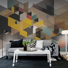 Rebel Walls sort des sentiers battus decodesign / Vous aussi, faites de vos murs votre décor ! www.vivamural.com