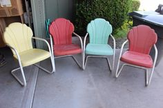 Found on EstateSales.NET:  Childhood Memories of swimming at our neighbor's pool.  We'd sit in these hot chairs until we could stand it anymore and then go jump in the pool.  God Bless Meredith Ford for sharing her home with my family and our friends.