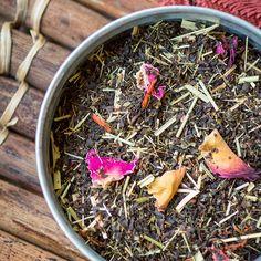 Raspberry Lemonade black tea - perfect iced tea! TeaSource