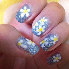 glitter flower