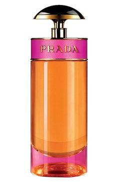 Free shipping and returns on Prada 'Candy' Eau de Parfum Spray at Nordstrom.com. Prada Candy incarnates the new Prada women: she's daring, sensual and full of life. The perfume is named after the seductive and joyful girl who is running wild, enriching the Prada Fragrance universe with another vision of the brand that's colorful and explosive.<br><br>How to use: Spray on pulse points.<br><br>Notes:<br>- Top: caramel.<br>- Middle: musks.<br>- Base: vanilla, benzoin.