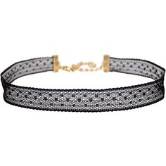Humble Chic NY Scalloped Lace Choker (115 RON) ❤ liked on Polyvore featuring jewelry, necklaces, black lace, bib collar necklace, choker jewelry, lace choker, lace collar necklace and lace necklace