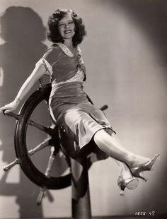 It Girl at the Helm ☆ Clara Bow☆ True to the Navy (1930) ☆ Original linen-backed photograph ☆ [requested by donadrake] ☆