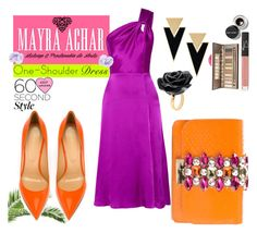 """Contest Entry"" by mayraacharok ❤ liked on Polyvore featuring Cushnie Et Ochs, Bobbi Brown Cosmetics, Chanel, Maybelline, NARS Cosmetics, Yves Saint Laurent, Nach Bijoux, Sergio Rossi and GEDEBE"