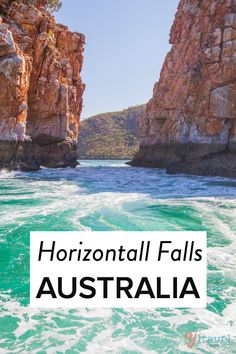Introducing the amazing Horizontal Falls in Western Australia, a natural phenomena.