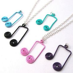 Wire Wrapped Music Notes | Flickr - Photo Sharing!