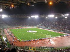 Stadio Olimpico, A.S. Roma!!
