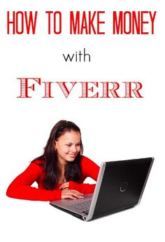Fiverr is a great way for moms at home to earn an income! I've been making money from it for almost a year now!