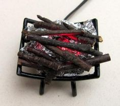 how to: electrified log fire
