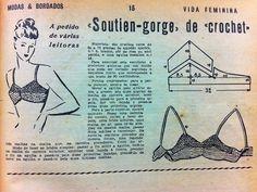 vintage crochet bra top