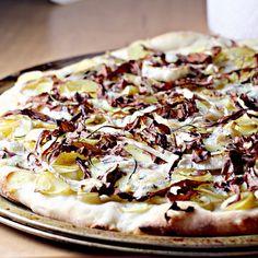 Gorgonzola Dolce, Fingerling Potatoes, Radicchio and Rosemary Pizza