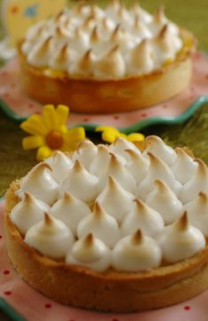 Meringue lemon pie...my mom made one for every first day of school