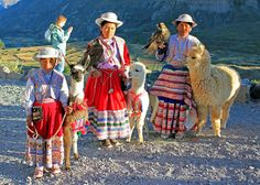 Peru people totally different style from the U.S
