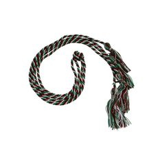 Double Graduation Cords - Cords and Stoles Red, Green, and White