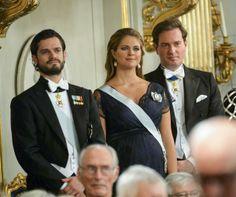 Príncipe Carlos Felipe, Magdalena de Suecia y Chris O'Neill