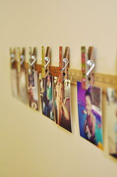 Love this photo display idea! by pepabarco