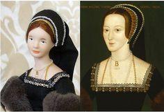 Anne Boleyn in Miniature