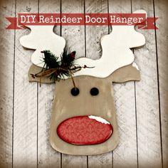 Reindeer Door Hanger FI