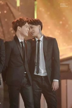 Kai and suho