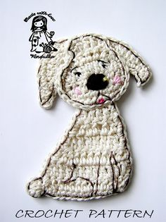 Little Puppy  crochet pattern by VendulkaM on Etsy, $3.80