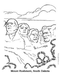 FREE NATIONAL SYMBOLS COLORING BOOK Instant Download  Coloring