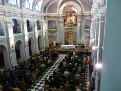 Eucaristía dominical en la Real Basílica de Nuestra Señora de Atocha