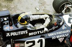 Carlos Pace - 1972. - German GP - Team Williams Motul - March 711