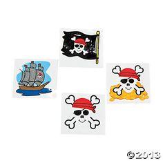 **Pirate Tattoos - Oriental Trading