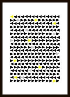 New Print - Multi-Triangles.