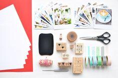 Fräulein Anker: DIY Fotobuch mit Polaroid Prints - Buch selber binden