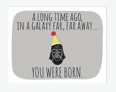Star wars birthday card printable yoda birthday card funny shop for funny birthday card on etsy the place to express your creativity through the buying and selling of handmade and vintage goods star wars bookmarktalkfo Gallery