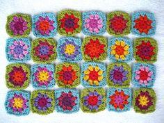 Summer Garden Granny Squares