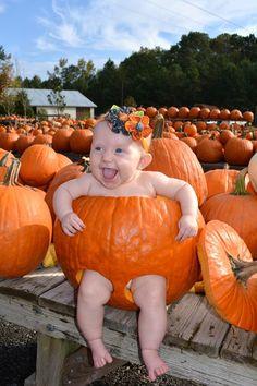 Sweet Pumpkin for first Halloween